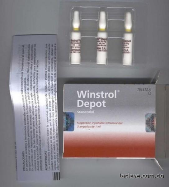 winstrol depot pastillas