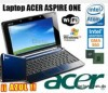 5500 VENDO MINILAPTOP ACER ASPIRE 160GB HDD AZUL TEL6877931