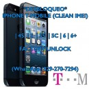 Desbloqueo Factory Unlock iPhone T-Mobile 55S5C66 Plus Clean IMEI