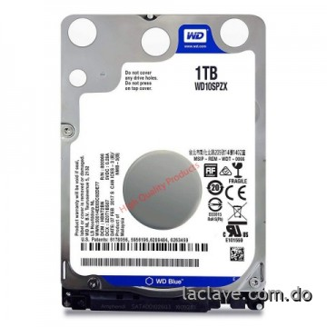 "Disco duro Western Digital Blue 1TB 25"" Sata 6Gbs 128Mb"