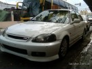 Honda civic 2000 blanco mica ancha oportunidad