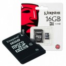 Memoria micro sd 16 gb kingston nuevas