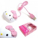 Mini mouse optico Hello Kitty USB