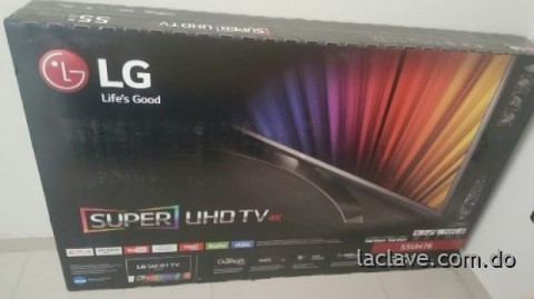Super ultra hight Definition serie 7 Lg 4k de 55 pulgadas