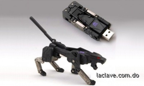 USB Flash de 16GB estilo Transformer