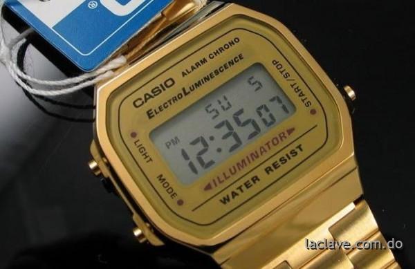 550747b9464b nuevos reloj casio dorados clasicos rep dominicana