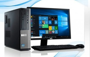 Computadora Dell Optiplex 990 320gb 4gb Ram I3