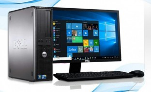Desktop Dell Optiplex 380 4gb Ram Core 2