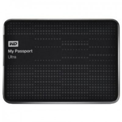 Disco duro 2TB externo portatil WD My Passport Ultra Black