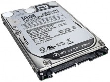 Disco duro de laptop 500GB 7200RPM 8GB cache WD5000BPKT