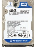 Disco duro de laptop de 640GB SATA WD6400BEVT