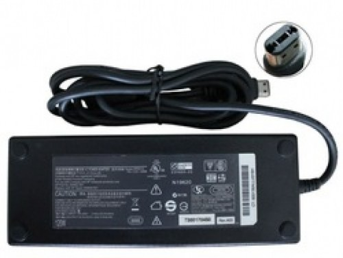 Fuente de laptop HP 185V 65A plug oval