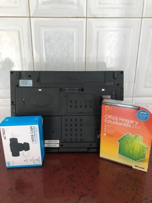 Laptop Escolar Toshiba Tecra A10 cámaraoffice