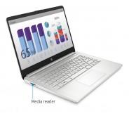 Laptop Hp 14 Intel Core I5-1035g1 8gb 256gb Ssd Plateada