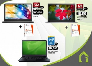 Laptops Dell inspiron AMD A10 A8 i3