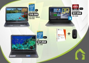 Laptops HP  i5 y Dell Inspiron i5
