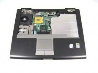 Motherboard Dell Latitude D520 con base y touchpad