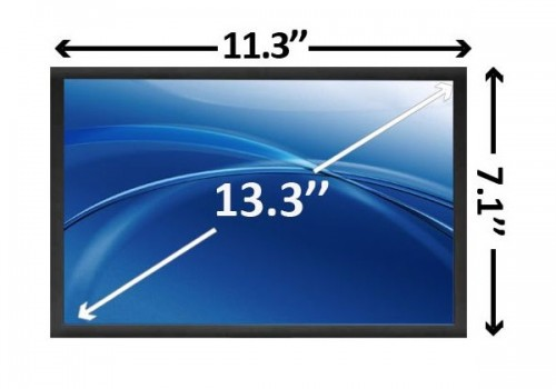 Pantalla de laptop 133 WXGA Ultrabright