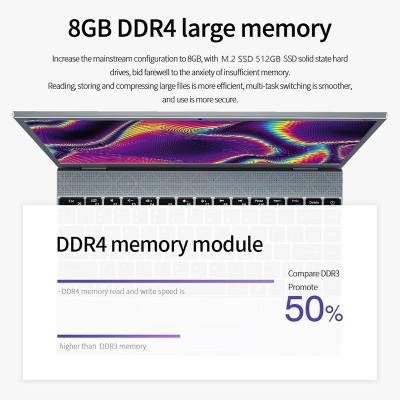 Portátil Kuu Xbook Intel Celeron J4115 8gb Ram 512gb Ssd