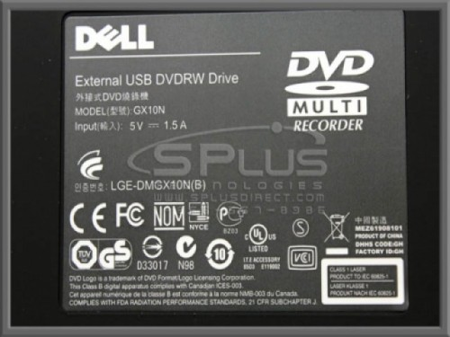 Quemadora de DVD para mini laptop Dell Acer HP Lenovo Asus